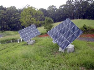 Stand Alone Solar Panels with Trackers